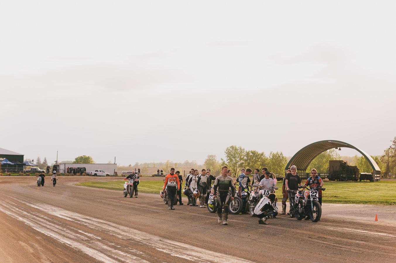 flat track racing
